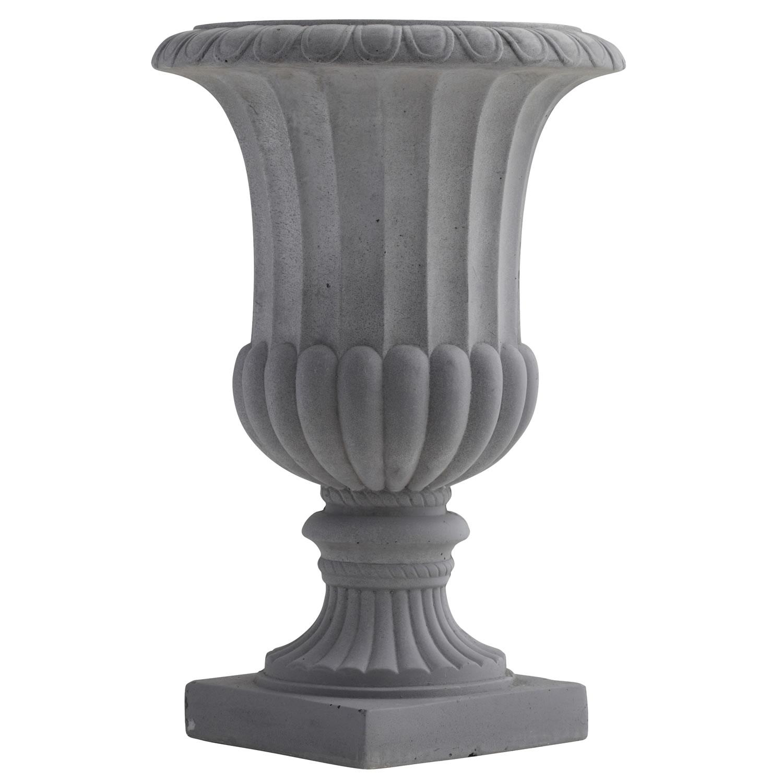 16 5 Decorative Urn Indoor Outdoor Silk Specialties