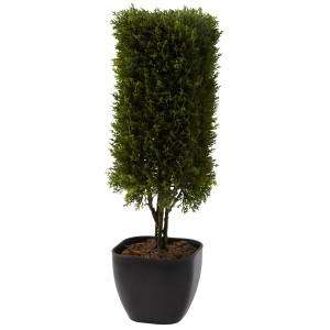 "19"" Cedar Column Topiary"