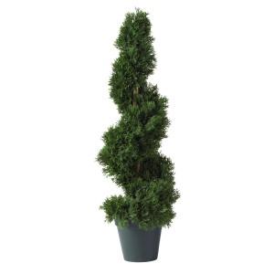 2' Cedar Spiral Silk Tree (In-door/Out-door)
