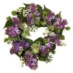 "20"" Hanel Lilac Wreath"