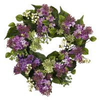 "20"" Hanel Lilac Wreath"