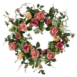 """20"""" Rose Wreath"""