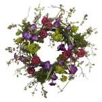 """20"""" Verandan Garden Wreath"""