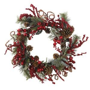 "24"" Assorted Berry Wreath"