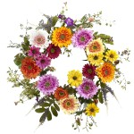 "26"" Africa Sunflower Wreath"