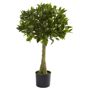 3' Bay Leaf Topiary UV Resistant (Indoor/Outdoor)