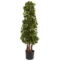 3.5' English Ivy Spiral UV Resistant (Indoor/Outdoor)