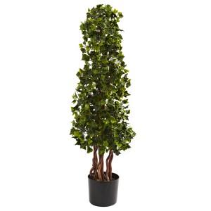3.5' English Ivy Spiral UV Resistant (Indoor/Outdoor)
