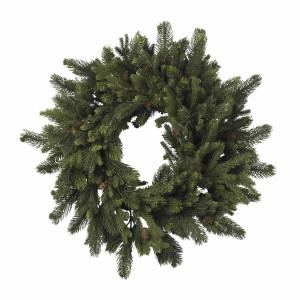 """30"""" Pine & Pinecone Wreath"""