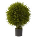 "32"" Cedar Ball Topiary"