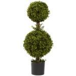 """35"""" Double Boxwood Topiary"""