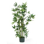4' Bamboo Silk Tree