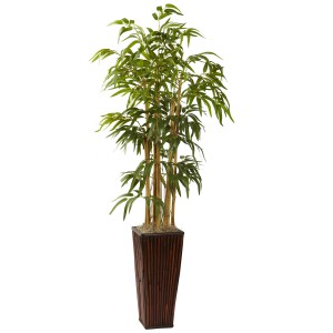 4' Bamboo w/Decorative Planter