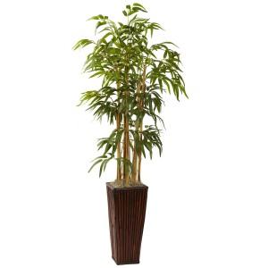 4' Bamboo w/Decorative Planter