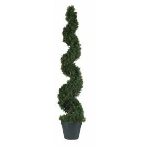 4' Cedar Spiral Silk Tree (In-door/Out-door)