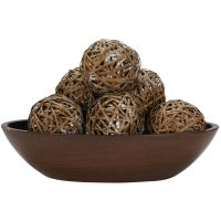 "4"" Decorative Balls (Set of 6)"