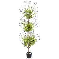 4' Lavender Topiary Silk Tree