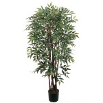 4' Potted Similax Silk Tree