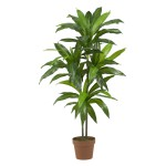 """48"""" Dracaena Silk Plant (Real Touch)"""