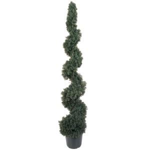 5' Cedar Spiral Silk Tree (In-door/Out-door)