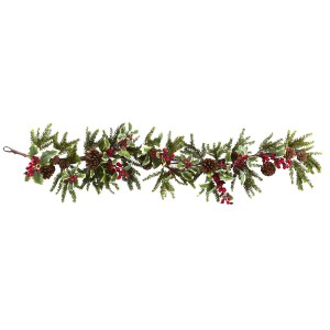 "54"" Holly Berry Garland"