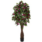 6' Multi Vine Bougainvillea Silk Tree