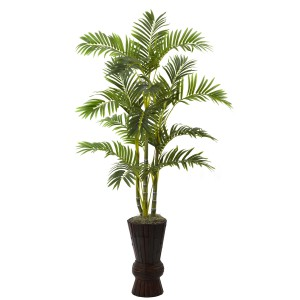 "62"" Areca Tree w/Decorative Planter"