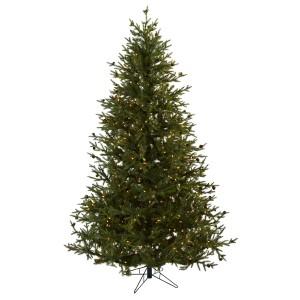 7.5' Classic Pine & Pine Cone Christmas Tree