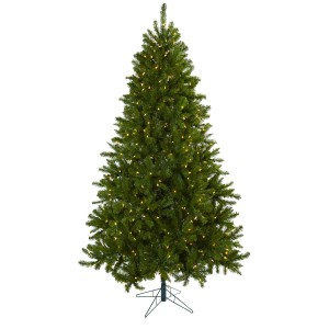 7.5' Windermere Christmas Tree w/Clear Lights