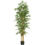"75"" Bamboo Silk Tree"