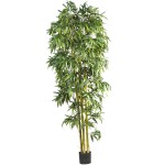 8' Biggy Style Bamboo Silk Tree