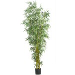 8'  Fancy Style Slim Bamboo Silk Tree