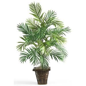 Areca Palm w/Wicker Basket