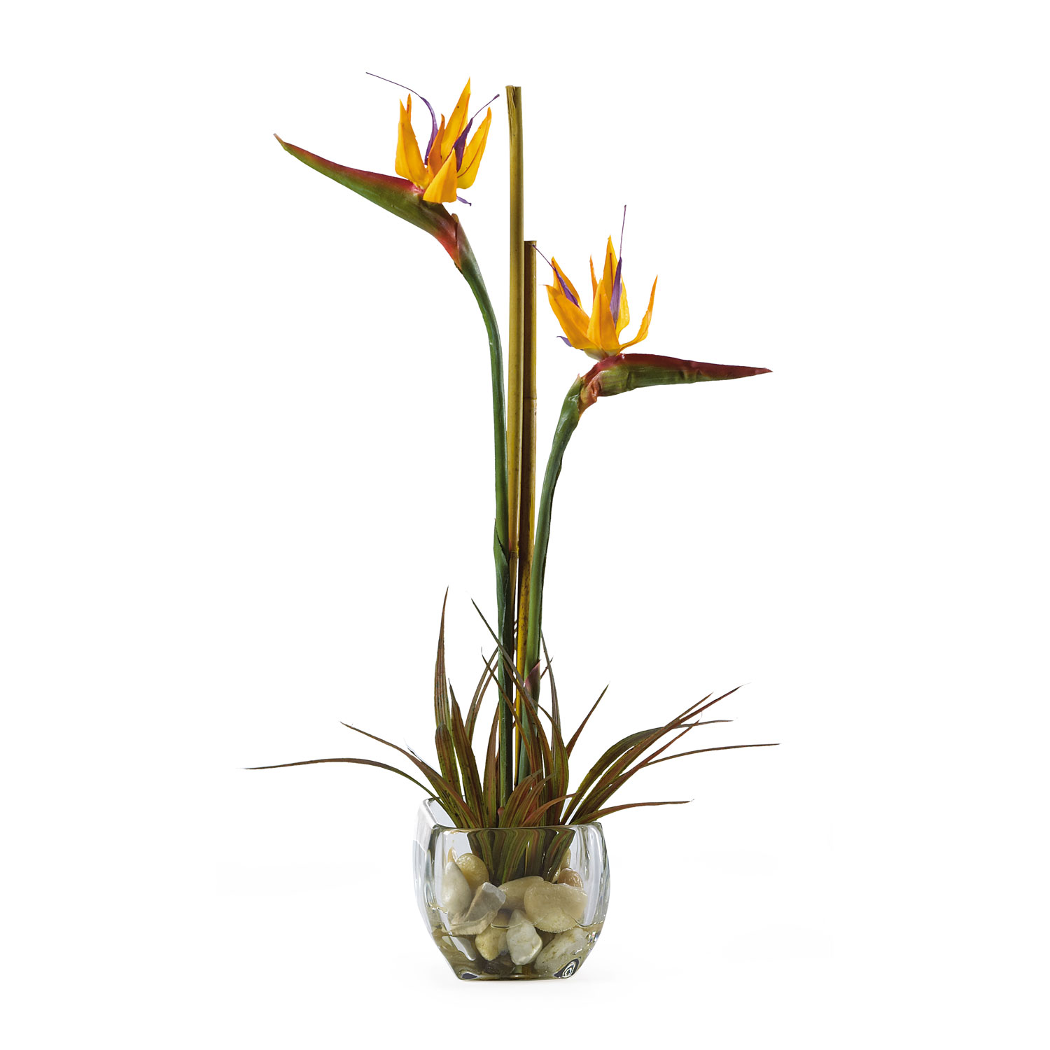 Bird of paradise silk flower arrangement silk specialties bird of paradise silk flower arrangement mightylinksfo