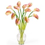 Calla Lily Liquid Illusion Silk Arrangement