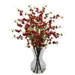 Cherry Blossoms w/Vase Arrangement