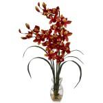 Cymbidium Orchid w/Vase Arrangement