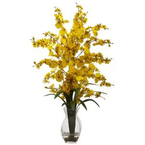 Dancing Lady Orchid w/Vase Arrangement