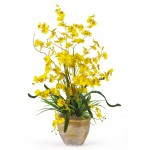 Dancing Lady Silk Orchid Arrangement