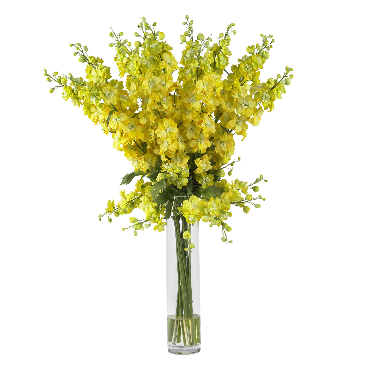 Delphinium Silk Flower Arrangement Silk Specialties