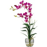 Dendrobium Liquid Illusion Silk Flower Arrangement