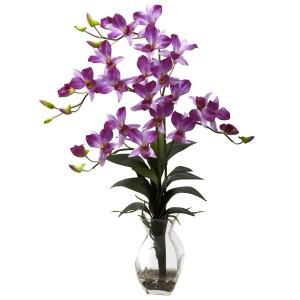 Dendrobium Orchid w/Vase Arrangement