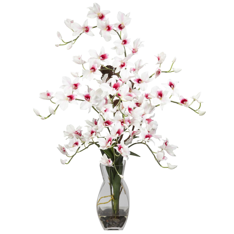 Vase Silk Flower Arrangement
