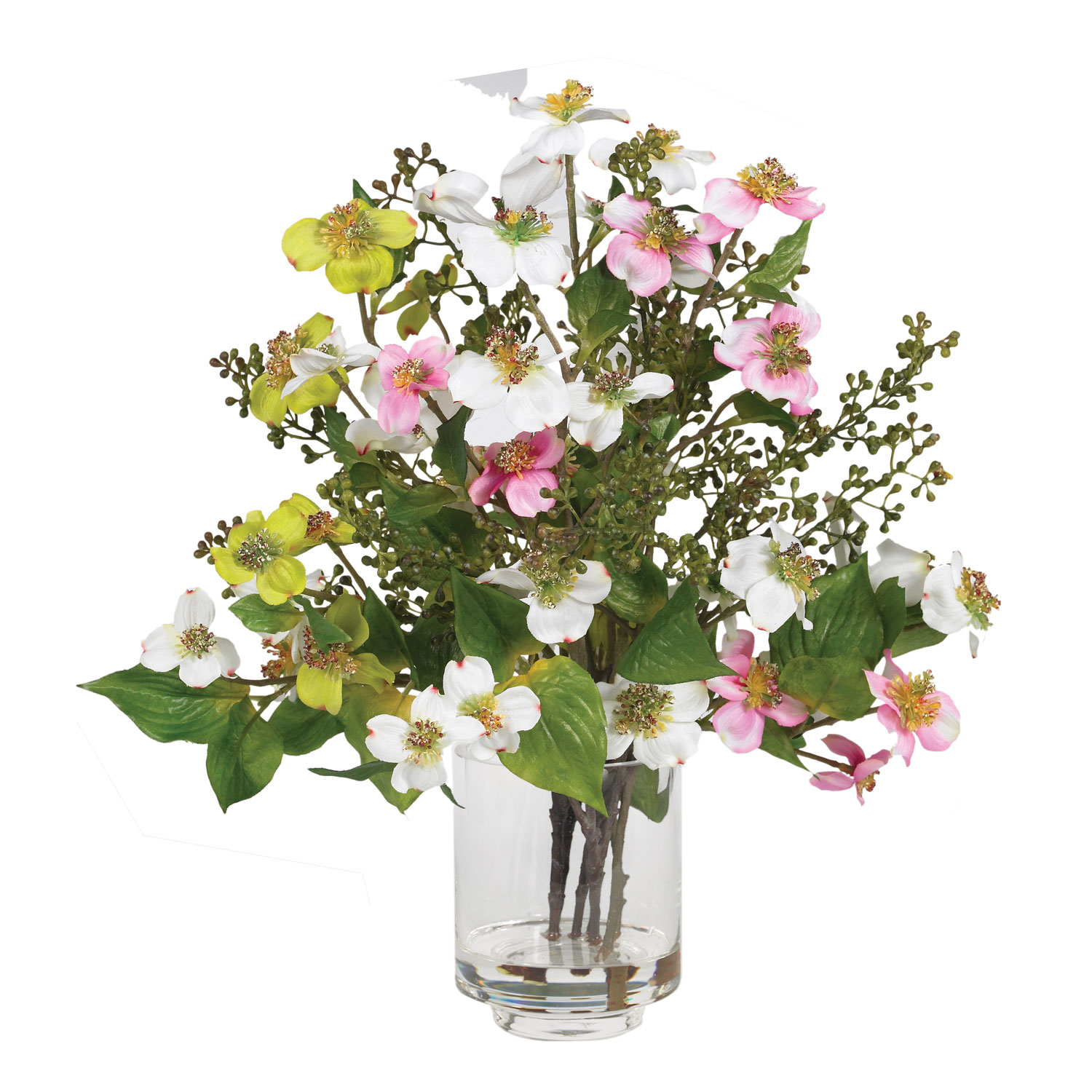 Dogwood Silk Flower Arrangement Silk Specialties