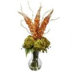 Fancy Foxtail & Hydrangea Arrangement