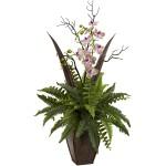 Fern & Orchid Arrangement