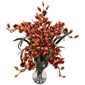 Large Cymbidium w/Vase Arrangement