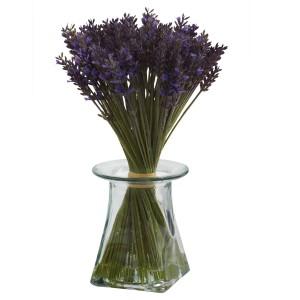 Lavender Bundle w/Vase