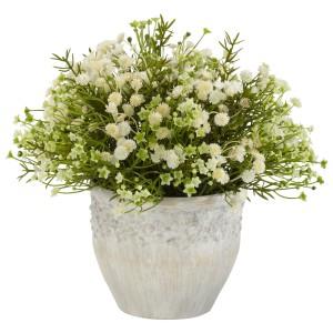 Mixed Mini Daisy Silk Plant (Indoor/Outdoor)