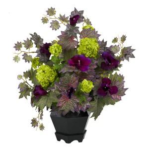 Morning Glory & Hydrangea Arrangement